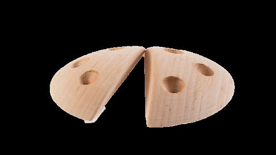 Entropy Holds puiset kiipeilyotteet wooden climbinholds disk small