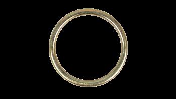 Firetoys kiinnitysrengas ilmajoogakankaille Firetoys Galvanised Steel O rings for Hammocks