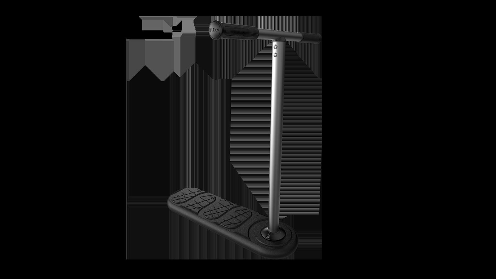 22,4 inch bars In Do The Trick Scooter V2 Trampolin-Scooter f/ür Tramp-Roller und Indoor-Roller 57cm 1000
