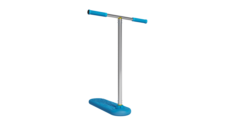 Indo Pro trampoliiniscootti trick scooter trampoline scooter.