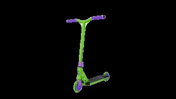 Longway summit mini scootti trick scooter green purple