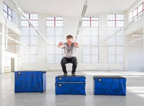 Pehmeä plyo boksi - soft plyo box-002