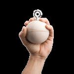 Puiset-harjoittelupallot-Wood-training-balls-80mm-hand