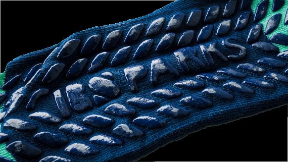 RS Parks trampoliinisukat Trampoline socks bottom-2