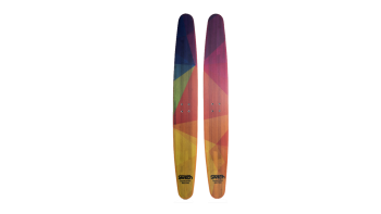 Switch board Trampoline skis 2