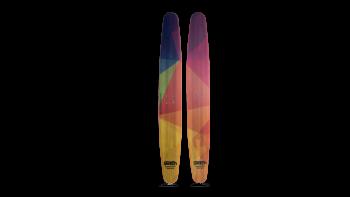 Switch board Trampoline skis 2