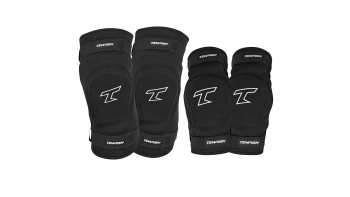 Tempish bing knee elbow pad polvi ja kyynarpaasuoja sleeve