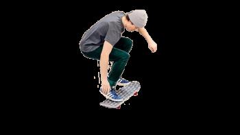 Trampoliinisekeitti complete trampoline skateboard complate