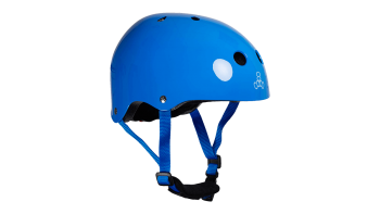 Triple eight Lil 8 helmet kypara blue