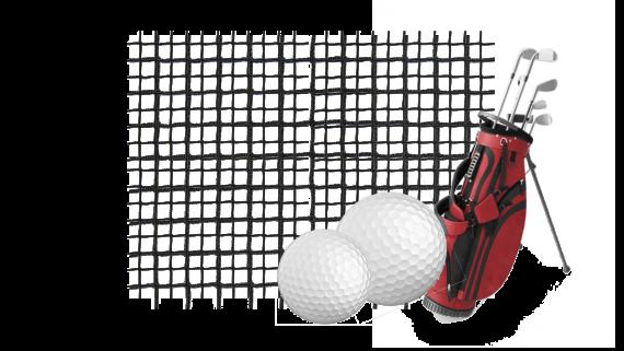 Suojaverkko golf lyöntiverkko golf